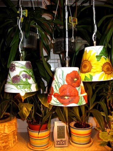 Светильники для дачи полевые цветы